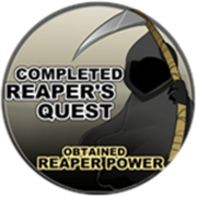 Completed Reaper Quest & Obtained Soul Reap Badge Icon
