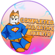 Completed All Sath's Quests Badge Icon