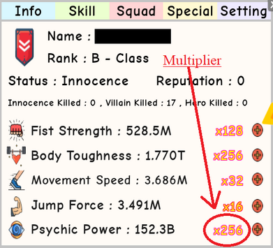 Psychic Power | Roblox Super Power Training Simulator Wiki