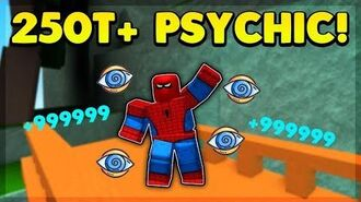 STRONGEST PSYCHIC POWER PLAYER VS ENTIRE SERVER (ROBLOX SUPER POWER TRAINING SIMULATOR)