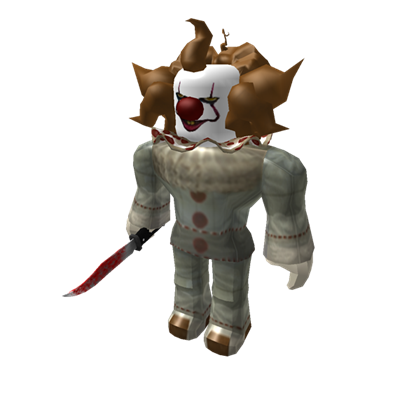 pennywise roblox survive  kill  killers  area