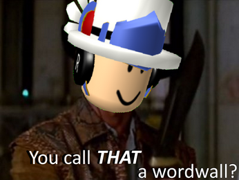 You call that a wordwall?