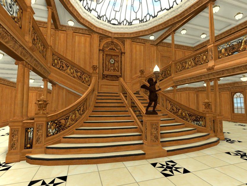 Grand Staircase Roblox Titanic Wiki Fandom