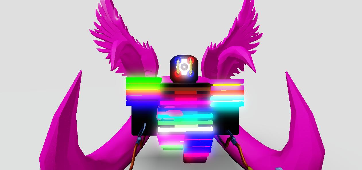 Wings Of Midnight Roblox Midnight Rainbow Angel Roblox Tower Battles Fan Ideas Wiki Fandom