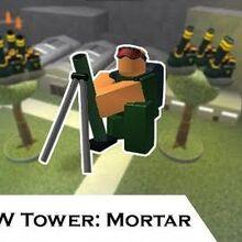 Mortar Roblox Tower Battles Wiki Fandom