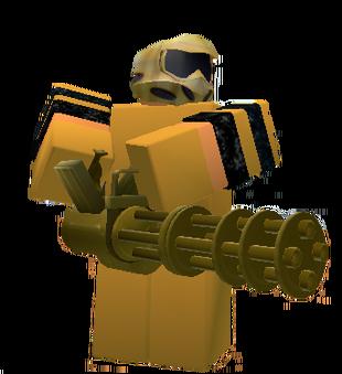 Golden Commando   Roblox Tower Battles Wiki   Fandom
