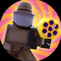 Swarmer Badge
