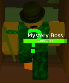 Mystery Boss | Roblox Tower Defense Simulator Wiki | FANDOM