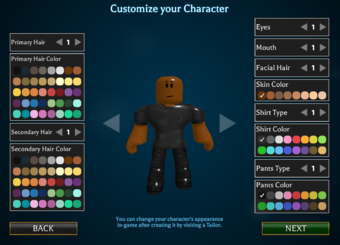 Character Creation Roblox World Of Magic Wiki Fandom