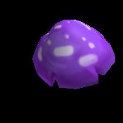 Dark Mushman Mushroom Cap