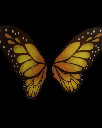 Monarch Butterfly Wings Roblox Wikia Fandom