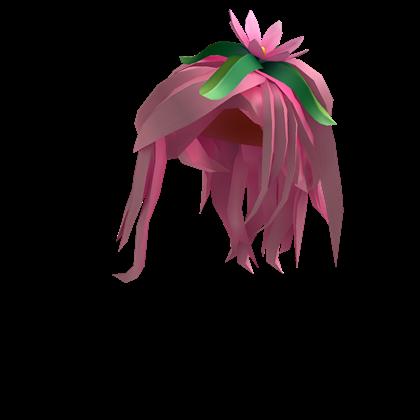 Pink Flower Princess Hair Roblox Wikia Fandom Powered By - roblox beautiful hair id