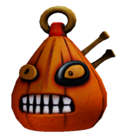 Pumpkin Head, Unused and Beautiful