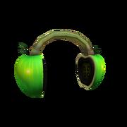 Green Apple Headphones