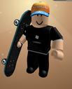 Skateboard glitch