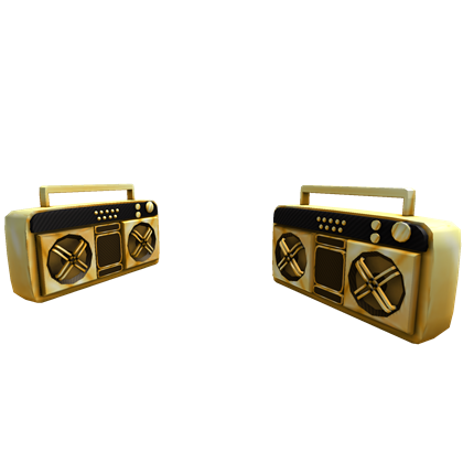Catalogdual golden super fly boomboxes roblox wikia fandom dual golden super fly boomboxes publicscrutiny Images