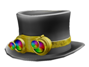 Rainbow Steampunk Hat