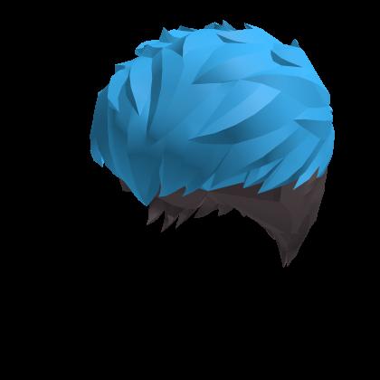 Blue Scene Anime Hair Roblox Wikia Fandom