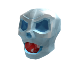 Crystal Skull of Defeated Skeletons