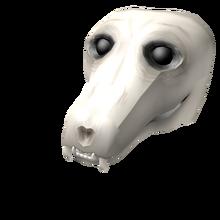 Cursed Wolf Skull
