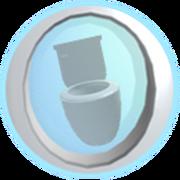 Buena Vista Sittin' on the toilet. Badge