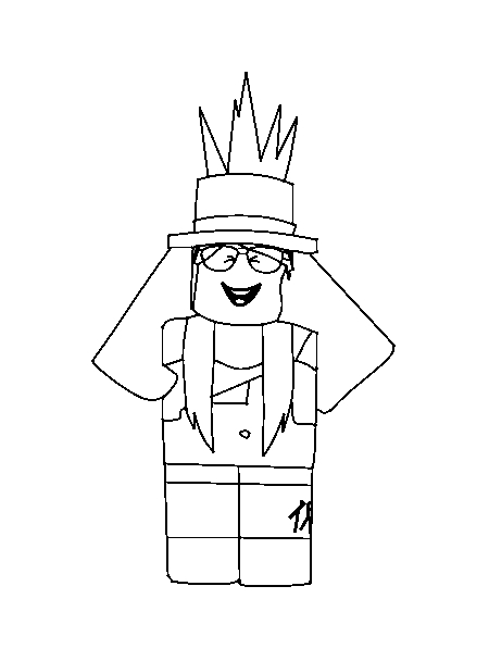Image - Roblox New School year 13-13 Lara Coloring Page Print ...