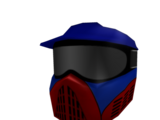Red & Blue Base Wars Paintball Mask