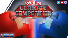 HEX ROBLOX Ultimate Competition Thumbnail