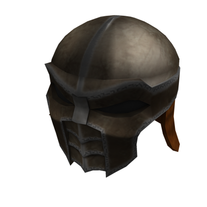 Heavy Iron Helmet Roblox Wikia Fandom Powered By Wikia - dark knight helmet roblox