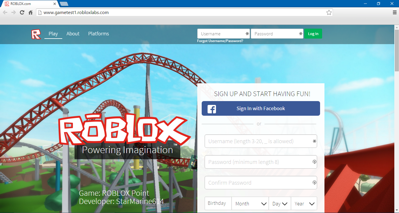 Testing Sites Roblox Wikia Fandom - free roblox 2006 accounts passwords