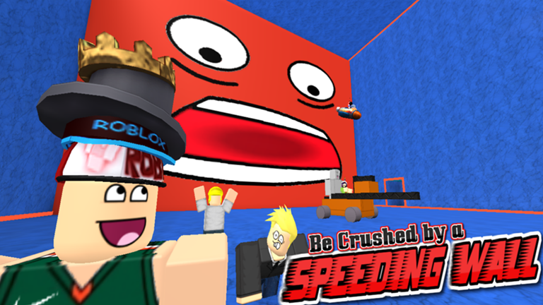 Be Crushed By A Speeding Wall Roblox Wikia Fandom Powered By Wikia - roblox simulator unblocked