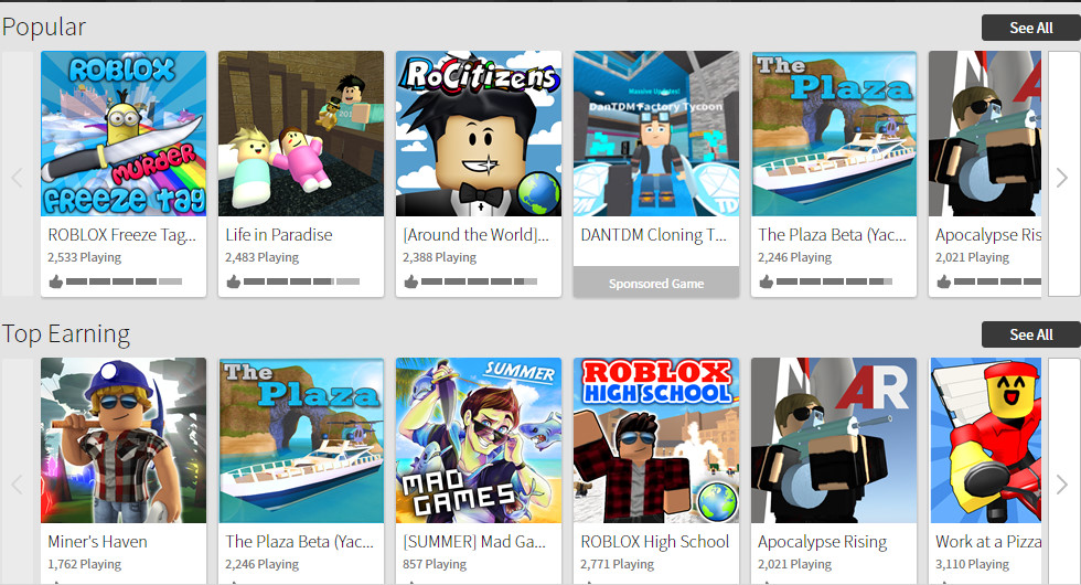 how to get your clothing on the roblox front page