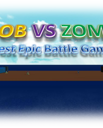 Noob Vs Zombie Roblox Wikia Fandom