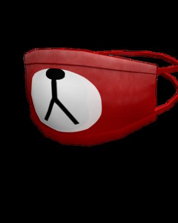 Red Bear Face Mask Roblox Wikia Fandom