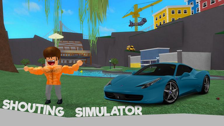 Shouting Simulator | Roblox Wikia | FANDOM powered by Wikia