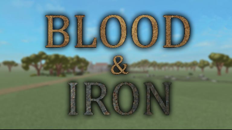 Blood Iron Roblox Wikia Fandom