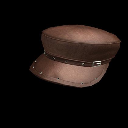 File:Dark Leather Cap.png