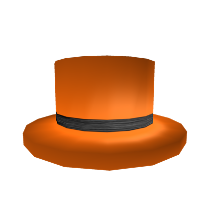 76d5d45581a Black Banded Orange Top Hat