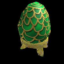 Green Fabergé Egg