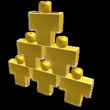 Solid Gold Pyramid of Interns