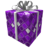 Purple Frozen Gift of the Master Developer