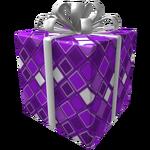 Purple Frozen Gift of the Master Developer