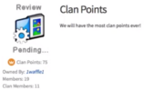 ClanPointsGroup