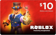 $10 Roblox GiftCard
