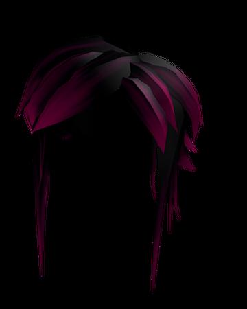 Black And Pink Drama Hair Roblox Wikia Fandom