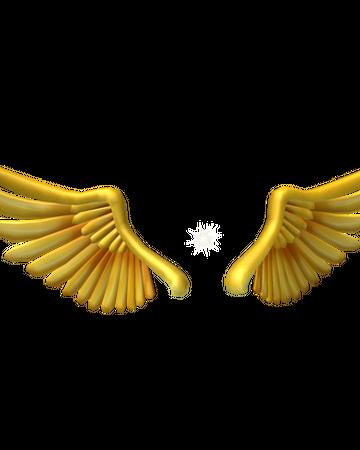 Golden Sparkling Wings Roblox Wikia Fandom