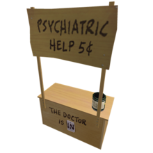 Lucy's Psychiatry Booth
