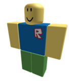 Noob with the old Roblox R