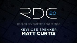 VP of Developer Relations Keynote Matt Curtis RDC 2020