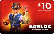 RobloxCard$10